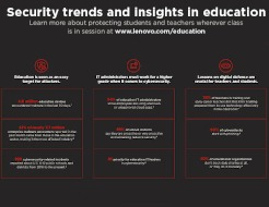 Security trends and insights in education